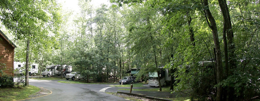Georgia Mountain RV Park - Creekwood Resort near Helen, GA