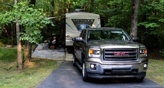 RV Sites - Creekwood RV Park in North GA