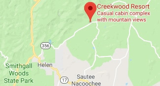 Directions to Creekwood Resort in North GA